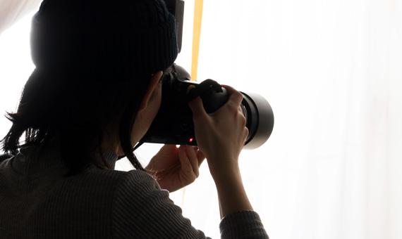秋田県五城目町で写真撮影