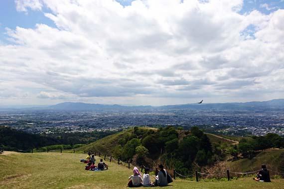 若草山からの眺め
