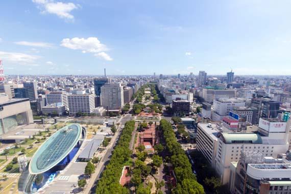 愛知県の都市風景