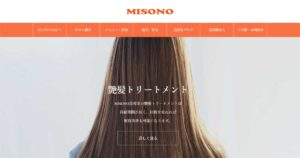 MISONO美容室・OGP画像